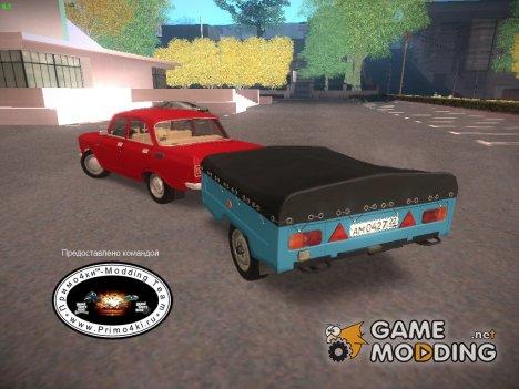 """МАЗ 8114 """"Зубрёнок"""" (прицеп) для GTA San Andreas"""