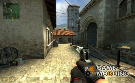 Default Desert Eagle On ImBrokeRU's Animations. for Counter-Strike Source