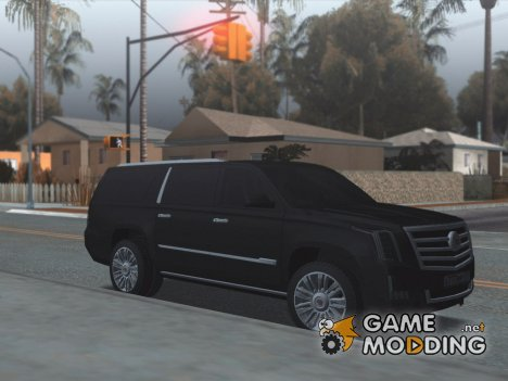 Cadillac Escalade Long Platinum 2016 для GTA San Andreas