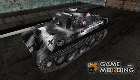 Аниме шкурка для Pz V Panther for World of Tanks
