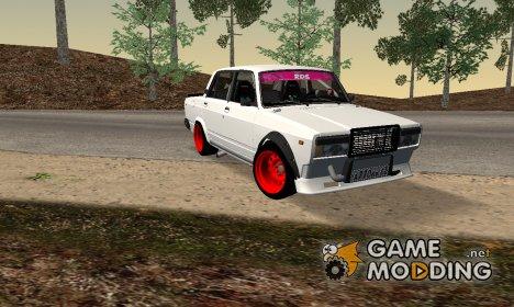 ВАЗ-2107 Боевая Классика for GTA San Andreas