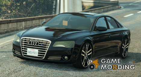 Audi A8 Unmarked for GTA 5
