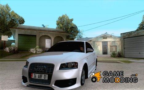 Audi S3 Tunable for GTA San Andreas