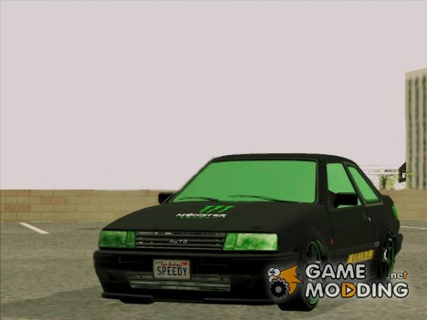 GTA 5 Karin Futo - Monster Energy для GTA San Andreas