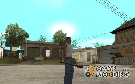 Бита с розовой повязкой для GTA San Andreas