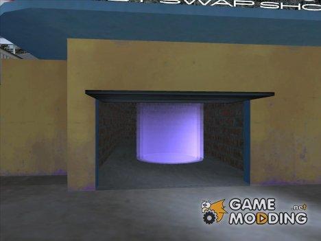 Фиолетовый маркер for GTA San Andreas