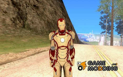 Iron Man Mark XLII for GTA San Andreas