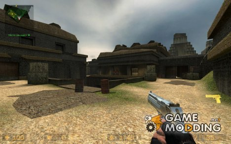 Deagle_realchrome_animated для Counter-Strike Source