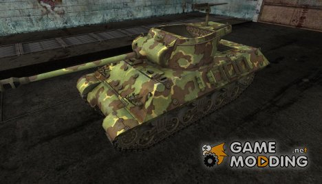 шкурка для M36 Slugger №18 for World of Tanks