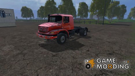 Mercedes-Benz Zetros for Farming Simulator 2015