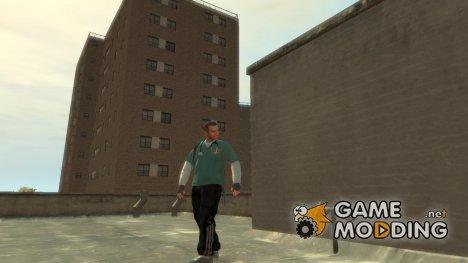 Черное трико для GTA 4