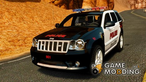 Jeep Grand Cherokee SRT8 2008 Police [ELS] for GTA 4
