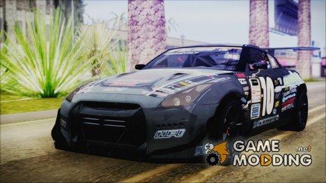 Nissan GT-R R35 Naoto для GTA San Andreas