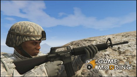M16 A2 for GTA 5
