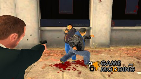 Перестрелки на улицах для GTA 4