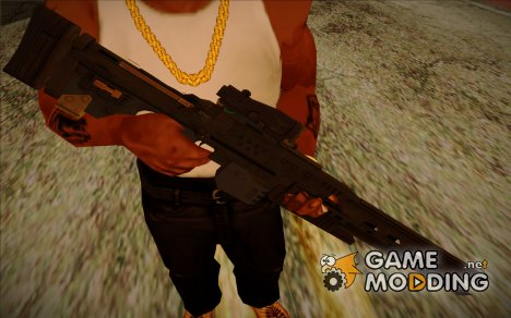 """Rorsch Mk-1 """"Rail Gun"""" (BF4 Final Stand DLC) for GTA San Andreas"""