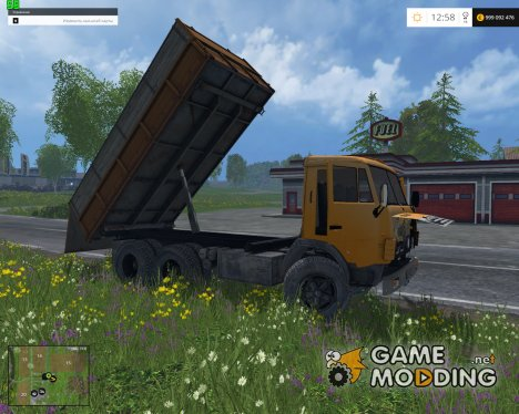KaмАЗ 55102 v1.1 для Farming Simulator 2015