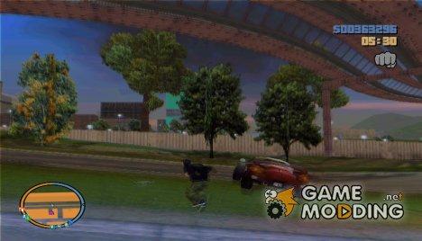 Анимированное выпрыгивание для GTA 3