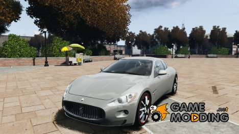 Maserati GranTurismo v1.0 for GTA 4