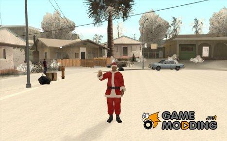 Santa Claus Xmas Mod for GTA San Andreas