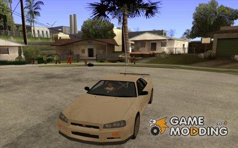 Nissan Skyline R34 GTR V-Spec для GTA San Andreas
