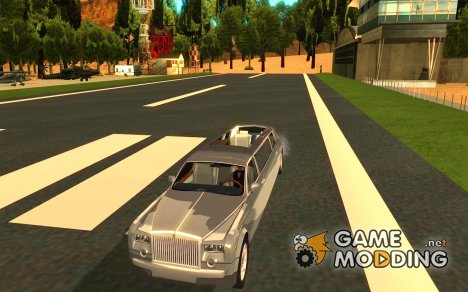 Rolls-Royce Phantom Limousine 2003 с Водителем для GTA San Andreas