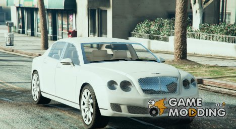 2010 Bentley Continental Flying Spur для GTA 5