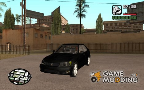 Lexus IS300 Tunable V1.0.1 для GTA San Andreas