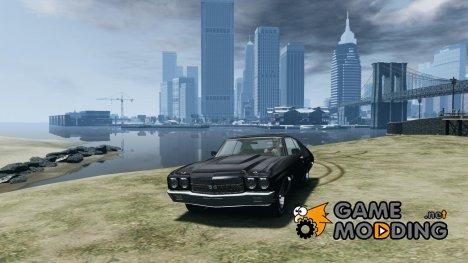Chevrolet Chevelle SS 454 v2 for GTA 4