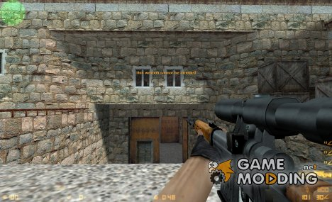 SVD Sniper Rifle для Counter-Strike 1.6