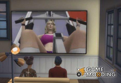 TV Porn для Sims 4
