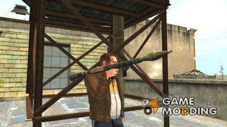 GTA V Rocket Launcher для GTA 4