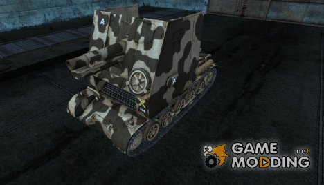 Шкурка для Sturmpanzer I Bison для World of Tanks
