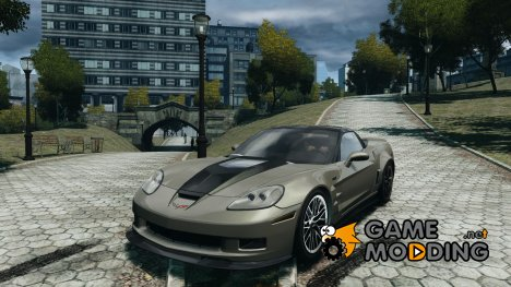 Chevrolet Corvette ZR1 2009 для GTA 4