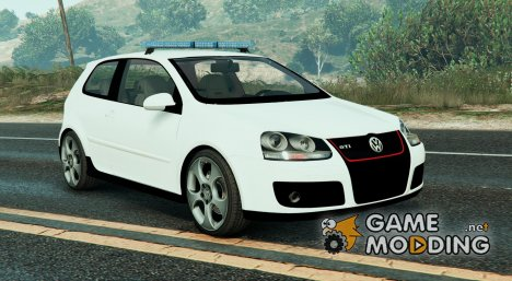 Volkswagen Golf Police for GTA 5