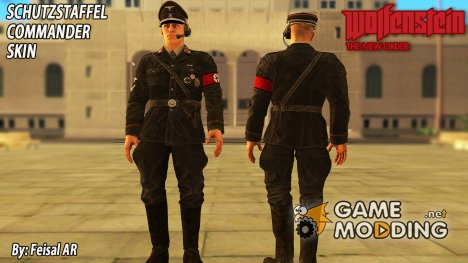 Немецкий офицер из Wolfesntein The New Order for GTA San Andreas