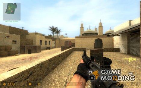Colt Model 733 for Counter-Strike Source