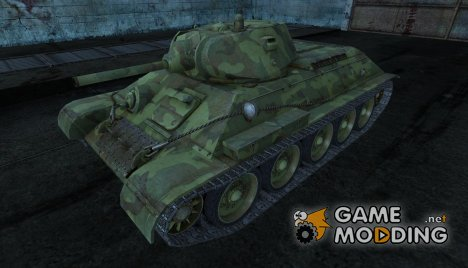 T-34 14 для World of Tanks