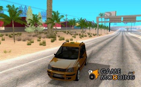 Fiat Panda Taxi для GTA San Andreas