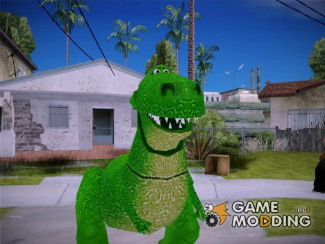 Rex Dinosaur Toy Story for GTA San Andreas