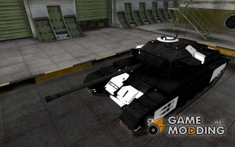 Зоны пробития Centurion Mk. 7/1 for World of Tanks