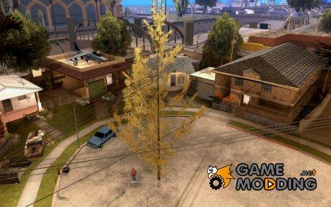 Посадить дерево (mos_cracin's version) for GTA San Andreas