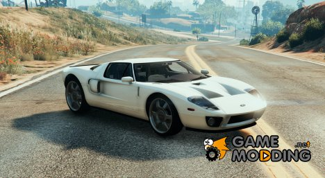 Unmarked 2005 Ford GT for GTA 5