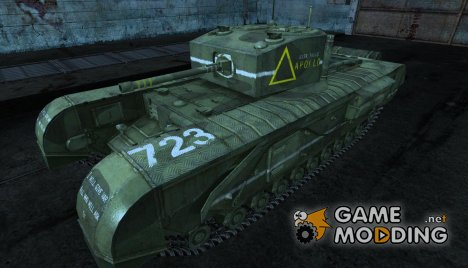 Черчилль Slepoy_USSR для World of Tanks