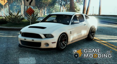 Unmarked Mustang GT500 для GTA 5