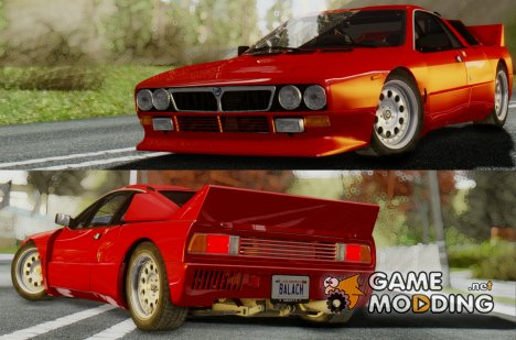 1982 Lancia Rally 037 Stradale (SE037) for GTA San Andreas