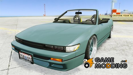 Nissan Silvia S13 Cabrio for GTA 4