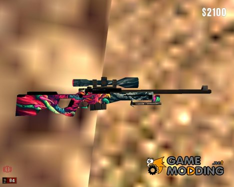 AWP Hyper Beast for Mafia: The City of Lost Heaven