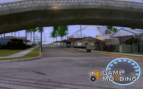 Speedometr by zub_mc v.3.0 для GTA San Andreas