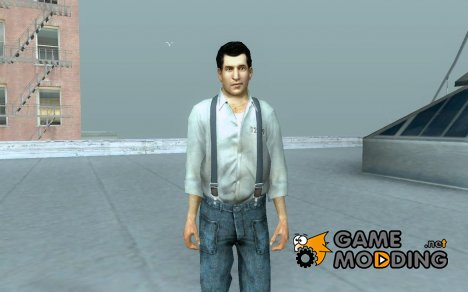 Joe dressed as a prisoner для GTA San Andreas